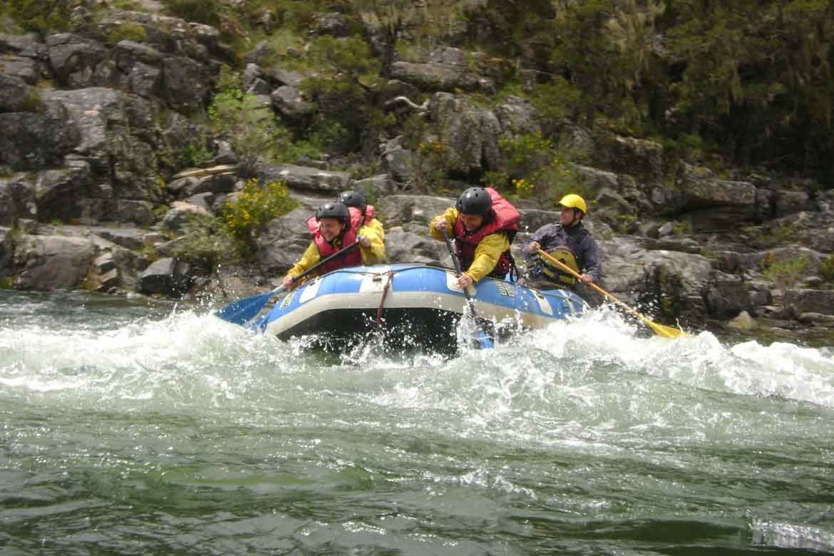 eventos corporativos, rafting
