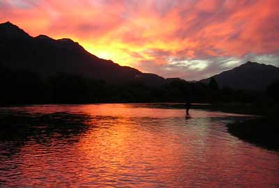 fly fishing zones in Patagonia Argentina